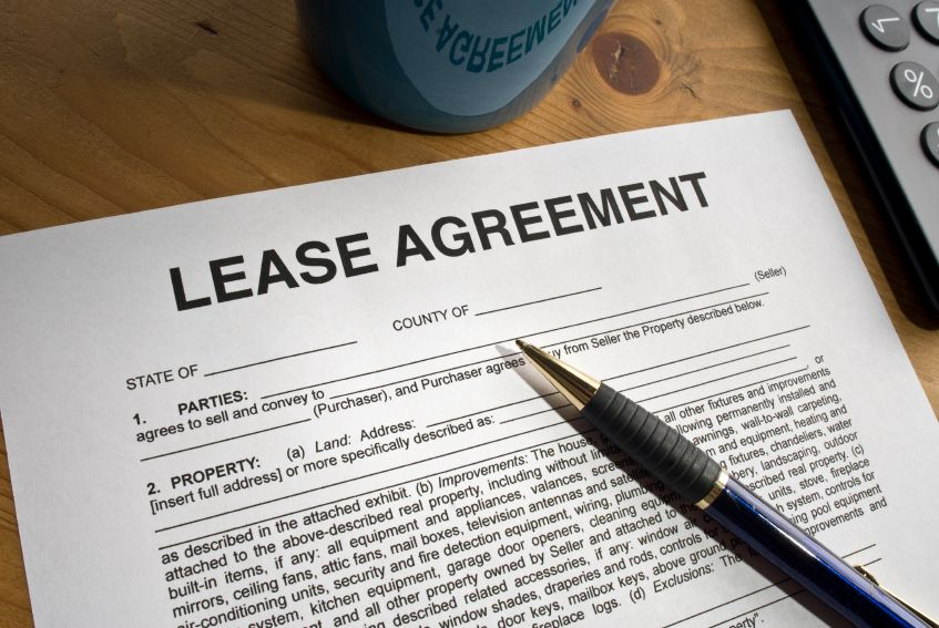 Lease Agreement Picture