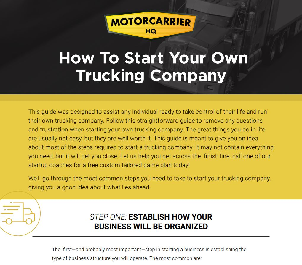 Trucking Guide