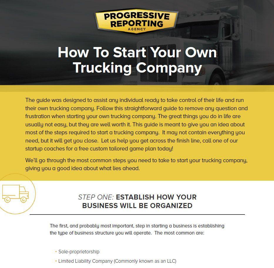 Trucking Guide | Motor Carrier HQ